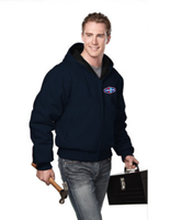 Tonna Timberline Hooded Canvas Jacket with Quilted Liner