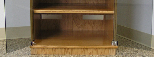"""stereo cabinet 50"""" high maple or oak made in usa free shipping usa"""