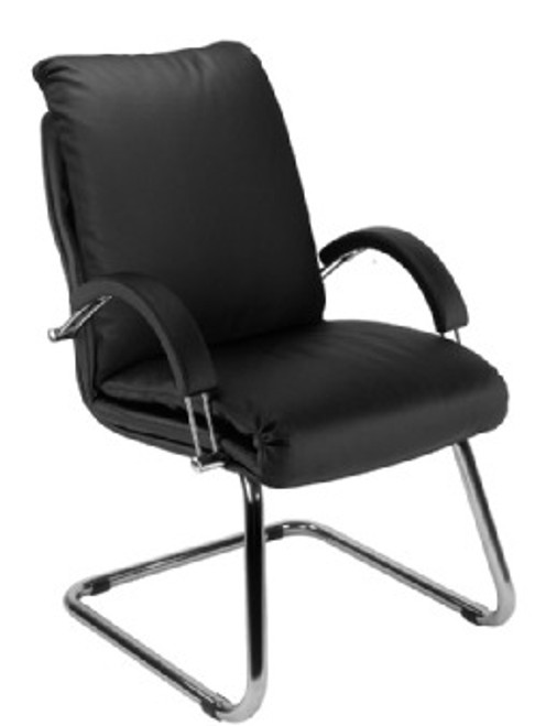 Nadir Executive Leather Visitor Chair