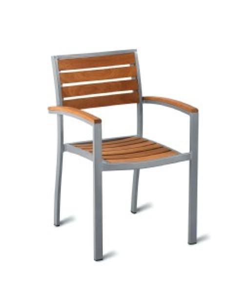 Geneva Teak Arm Chair