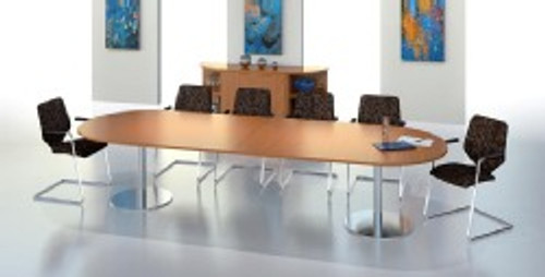 Brevis D-End Meeting Table