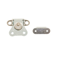 Standard Twist Latch (silver)