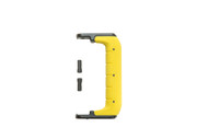 "Injection Molded 4 7/8"" Handle Yellow"