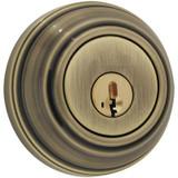 9471 Single Cylinder Deadbolt in Antique Brass