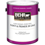 BEHR PREMIUM PLUS® Interior Eggshell Enamel Paint - Ultra Pure White; 3.79 L