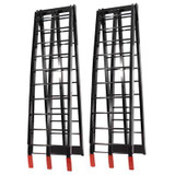 Job Pro Folding Aluminium Ramps (Black)