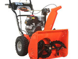 Compact 24 Two-Stage Electric Start Gas Snow Blower with 24-inch Clearing Width