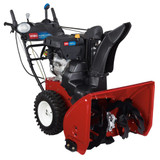 Power Max HD 1028 OHXE Two-Stage Electric Start Gas Snow Blower with 28-Inch Clearing Width