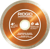 4 Inch RIDGID Glass Tile Diamond Blade
