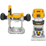 1-1/4 HP Premium Plunge/Fixed Compact Router Combo