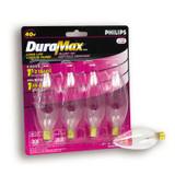 40 Watt Clear Blunt Tip Chandelier Incandscent Light Bulb 4 PK