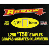 Arrow T50 9/16in Staples - Box of 1250
