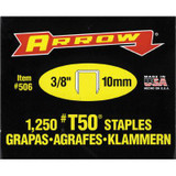 Arrow T50 3/8in Staples - Box of 1250