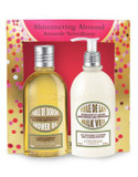 L Occitane Shimmering Almond Deluxe Two-Piece Set