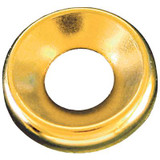 #10 Brass Finish Washer Plain