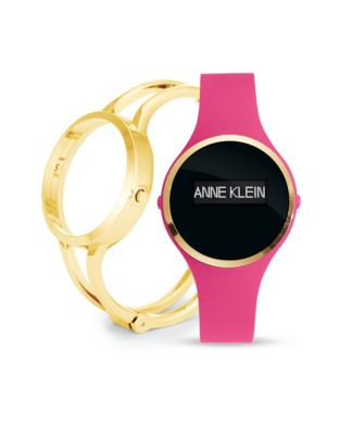 Anne Klein Ladies Activity Tracker Fashionfit Watch Ak-2010PFIT - PINK