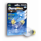 40W Fan/Garage Door Clear Bulb 2Pk