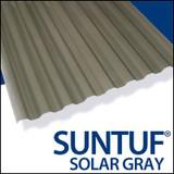 Suntuf Cor. Pc 8  Feet  Solar Grey