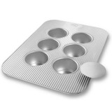 Mini Cheesecake Pan with Removable Bottoms (6 Wells)