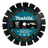 12 Inches. Segmented Dual purpose Diamond Blade