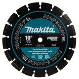 10 Inches. Segmented Dual Purpose Diamond Blade