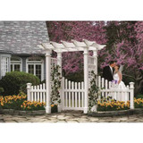 Fairfiled Arbor with trim gate & wings