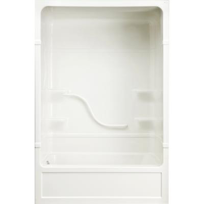 Parker 16 Acrylic 60 Inch 1 Piece Tub And Shower Left Hand