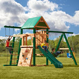 Bighorn Ready to Assemble Play Set w/ Tuff Wood and Summit Slide