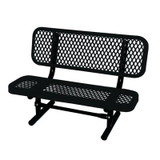 3 ft Commercial Preschool Bench- Black