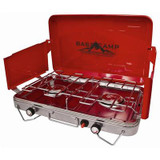 Deluxe 2-Burner Camping Stove