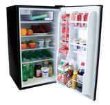 4.0 Cubic Feet Refrigerator - Black