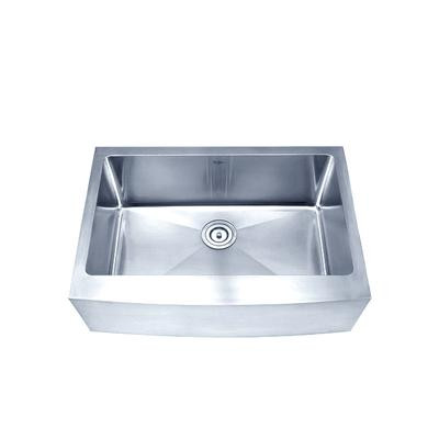 27 Inch Farmhouse Sink : ... Inch Farmhouse Apron Single Bowl 16 gauge Stainless Steel Kitchen Sink