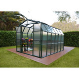 8 Feet 6 Inches x 12 Feet 7 Inches Grand Gardener Greenhouse