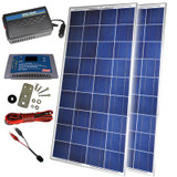 300 Watt 12 Volt Solar Backup Kit