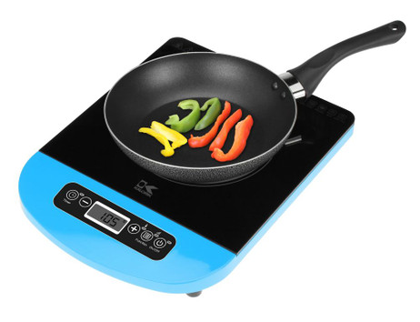 Black Induction Cooking Plate