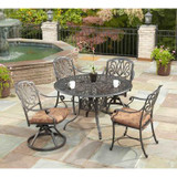 48Inch Round Dining Table 5pc Set