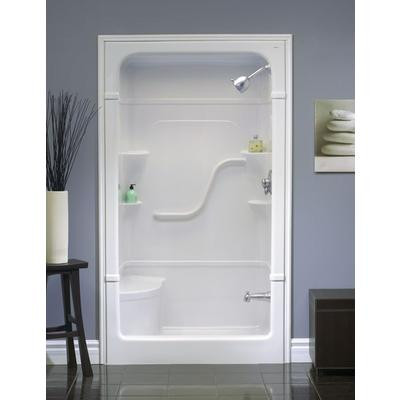 Madison 4 3 Piece Shower Stall With Seat Vellaca