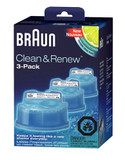 Braun Clean and Renew Refill 3 pack - Blue