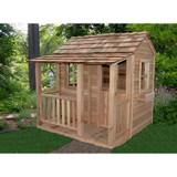 Little Squirt Cedar Playhouse – 6 Feet x 6 Feet