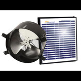 15 Watt Solar Gable Fan All Purpose Ventilator Ventilates up to 1900 Sq. Feet.