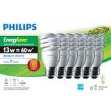 CFL 13W = 60W Mini Twister Bright White (5000K) - Case of 24 Bulbs