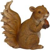 9 Inch Squirrel Statue