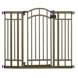 Deco Bronze Extra Tall Walk-Thru Gate