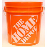 19L / 5 Gallon Orange Home Depot Logo Bucket