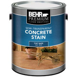 BEHR Semi Transparent Concrete Stain; 3.73L