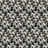 20.5 In. W Black and White All-Over Multi Swirl Print Wallpaper