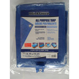 15 Feet x 20 Feet All Purpose Blue Tarp
