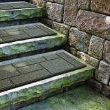 Cobblestone Earth Stair Tread - 10 Inch x 24 Inch