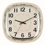 Betty 12 Wall Clock; Almond