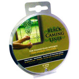 Black Caming Line for Stain Glass 2 packs 6 Feet Long